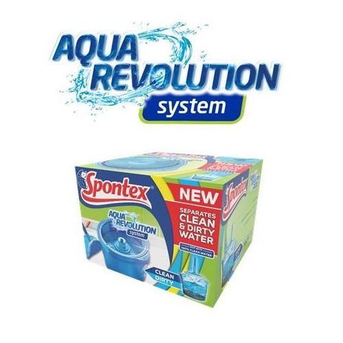 Aqua Revolution zestaw mop+wiadro 50347