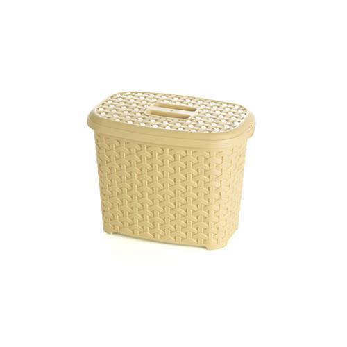 Pojemnik Na Detergenty Z Pokrywą Rattan  2,5l 9226