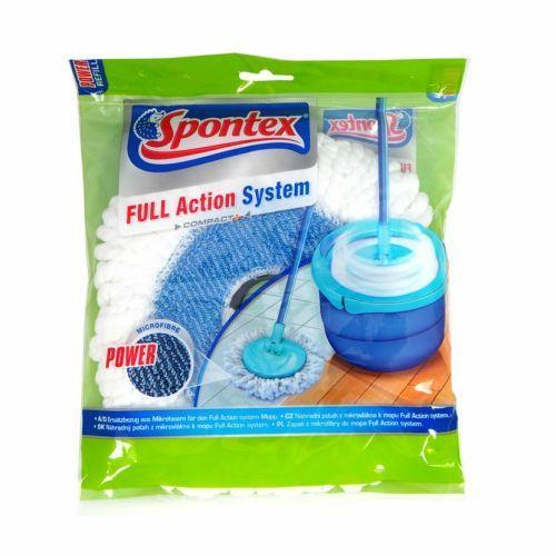Spontex Full Action wkład do mopa niebieski 50278 Spontex
