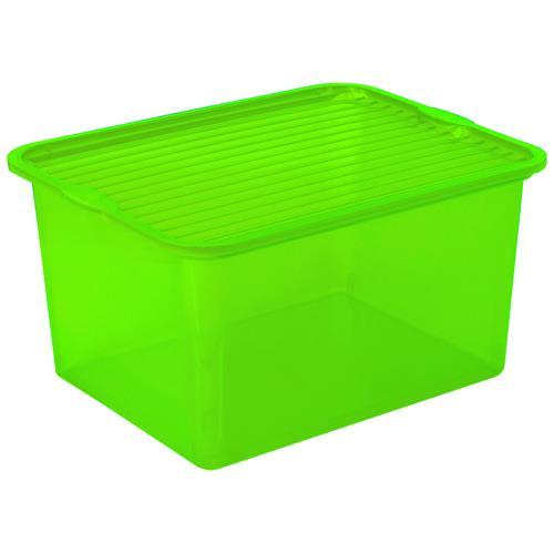 Branq Pojemnik C-Box 27l Transparentny 3 Kolory 1003