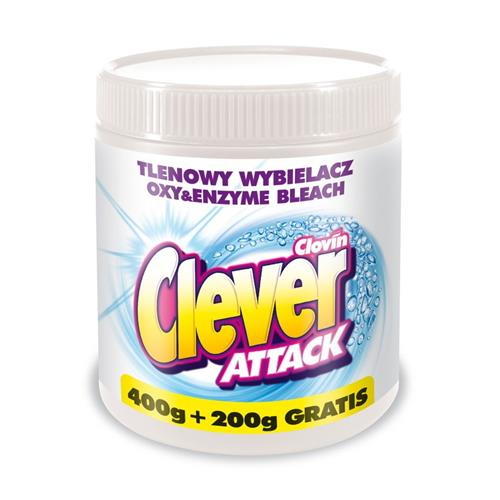 Tlenowy Wybielacz Attack 750g Clovin
