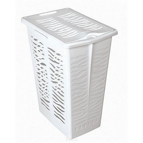 Branq Prostokątny Kosz Na Bieliznę Zebra 30l Biały 1401 Branq