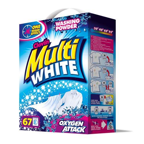 Proszek Multiwhite 5kg Karton Clovin