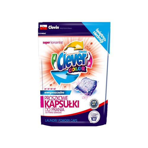 Kapsułki Proszek Do Prania Herr Clever Color l30szt x 18g