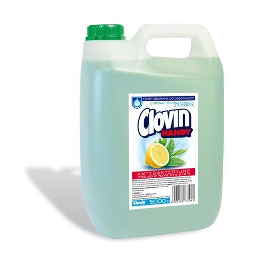 Mydło W Płynie 5l Cytryna Zielona Herbata Clovin