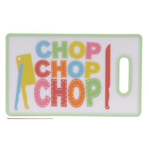Deska Plastikowa Chop 36,5x22,5cm 3 Wzor