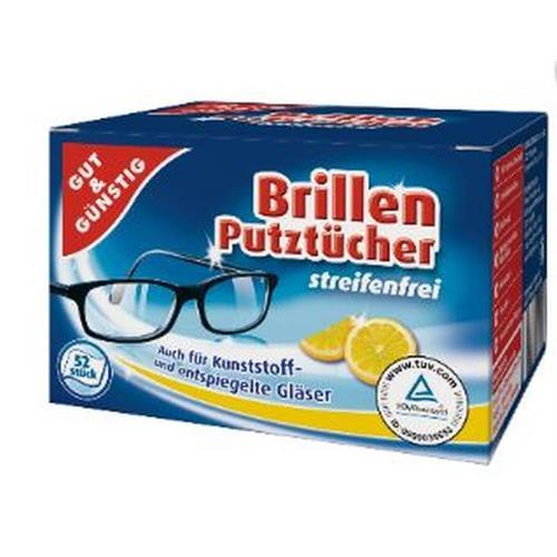 Chusteczki Do Okularów Lemon 52szt