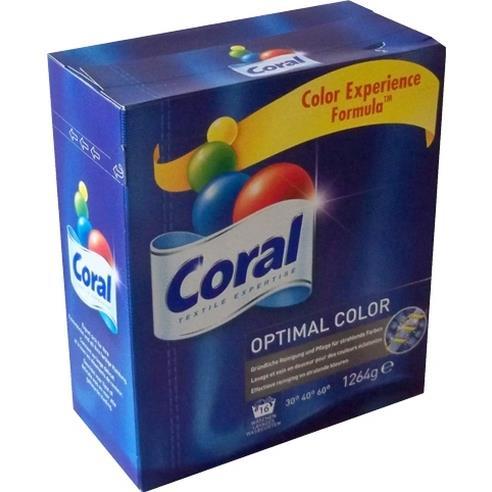 Coral Optima Color Proszek Do Prania 1264g