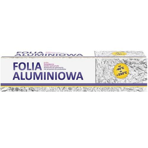 Folia Aluminiowa 1kg Gastronomiczna Z Mikro tłoczeniem