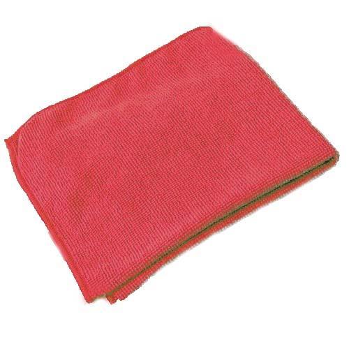 Ścierka Microfibra 38X38cm Sitec Czerwon 340G