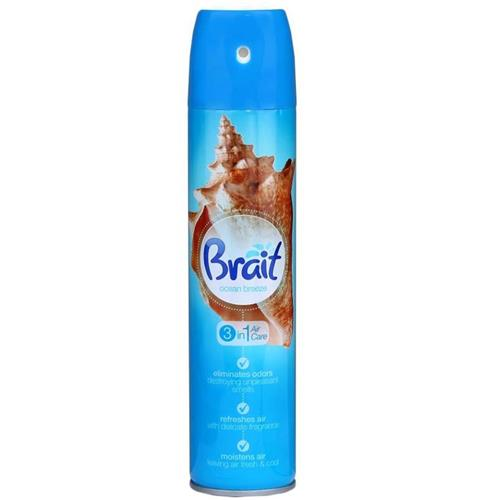 Odświeżacz Brait Spray 340ml Ocean Breez