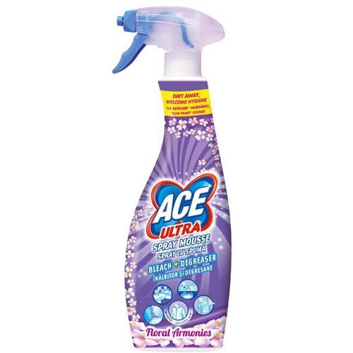Ace Ultra Pianka Odplamiacz Spray 700ml Flower Fioletowy Procter Gamble