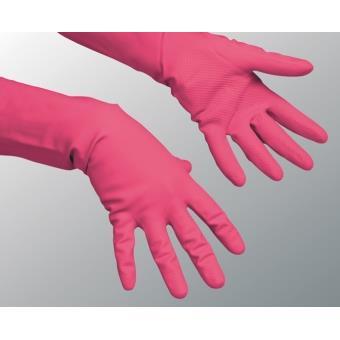 Vileda Rękawice Multipurpose Red M 100153 Vileda Professional