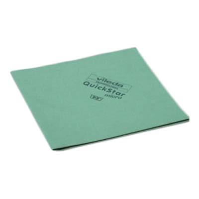 Vileda Ścierka Micro Quick Star Zielona 152108 Vileda Professional
