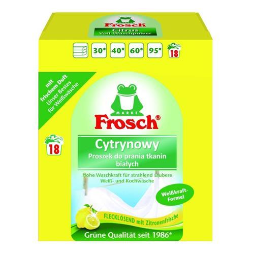 Frosch Proszek Do Prania Tkanin Białych 1,35kg
