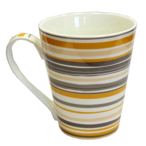 Kubek Porcelanowy Żółto/Szary 445ml 8282 CH