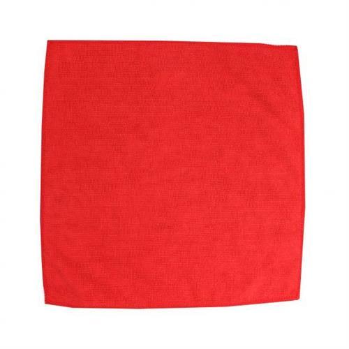 Ścierka z mikrowłókien 32x32 czerwona