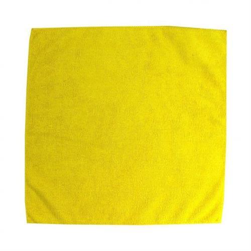 Ścierka z mikrowłókien 32x32 żółta