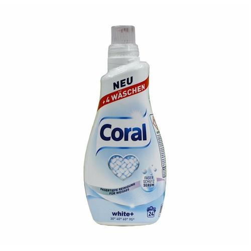 Coral Żel Do Prania Fresh White 1,2l
