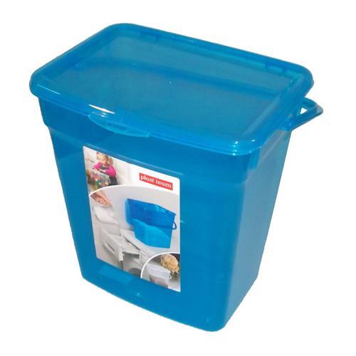 Plast Team Pojemnik Uniwersalny 6l Transparentny Niebieski 5058