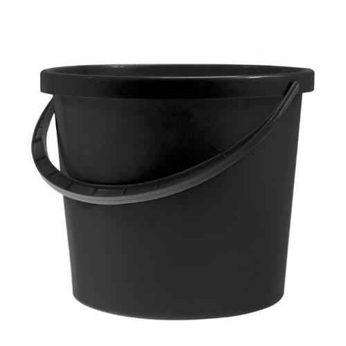 Plast Team Wiadro Berry 10l Czarne Wyciskacza 6059
