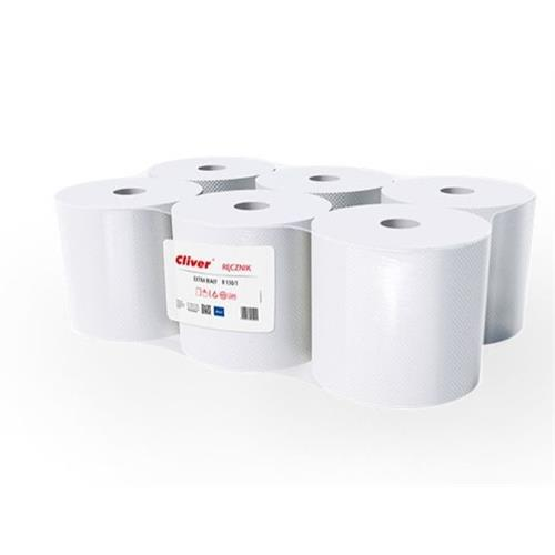 Cliver Ręcznik Midi R130/1 Extra Biały Standard
