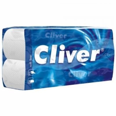 Cliver Ręcznik Zz Biały 4000 Economic