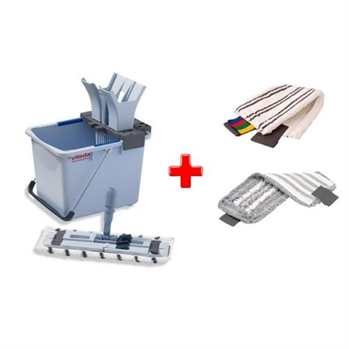 Vileda Zestaw Ultraspeed Starter Kit 15l + 1 Wkład Microlite + 1 Wkład Trio
