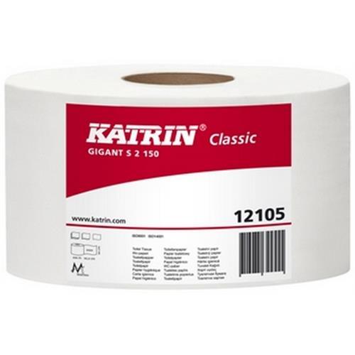 Katrin Papier Toaletowy Gigant S2 130 121050 Biały