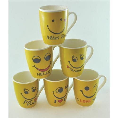 Elh Kubek Ceramiczny Emotikon 250ml EH181