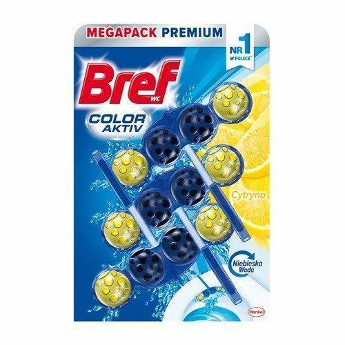 Bref Color Aktiv Do Wc Barwiący 3x50g Lemon