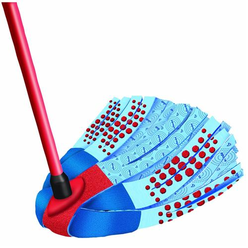 Vileda SuperMocio 3Action Velour Mop 140008
