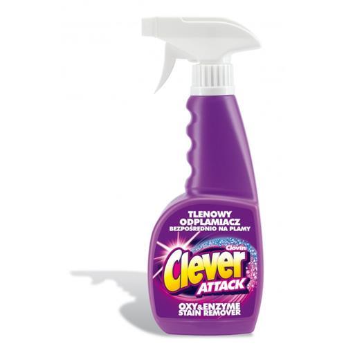 Tlenowy Odplamiacz Attack Spray 450ml Clovin