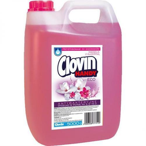 Mydło W Płynie 5l Magnolia Z Gliceryną Clovin