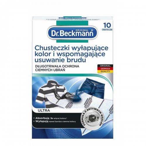 Dr.Beckmann Chusteczki Wyłapujące Kolor do ciemnego 10szt