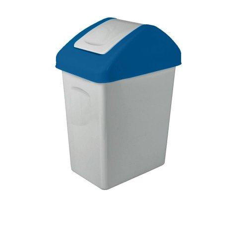 Branq Uchylny Kosz Na Śmieci 10l Do Segregacji Niebieski 1310