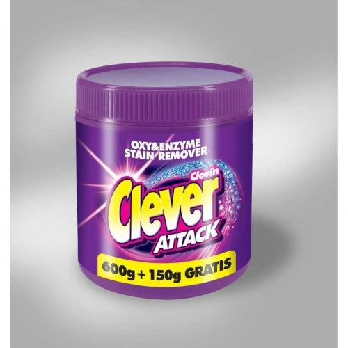 Tlenowy Odplamiacz Attack 750g Clovin