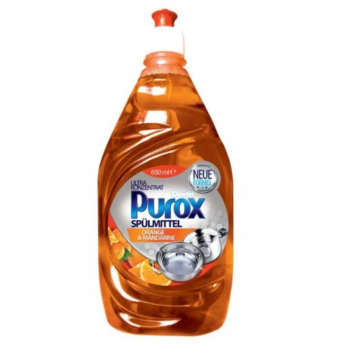 Purox Koncentrat Do Naczyń Orange 650ml Clovin