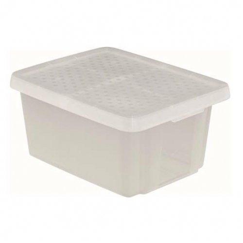 Curver Pojemnik Essentials 45l Z Pokrywą Transparentny 225405
