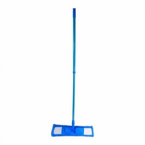 F Mop Hit Micro Niebieski Z Drążkiem Teleskopowym