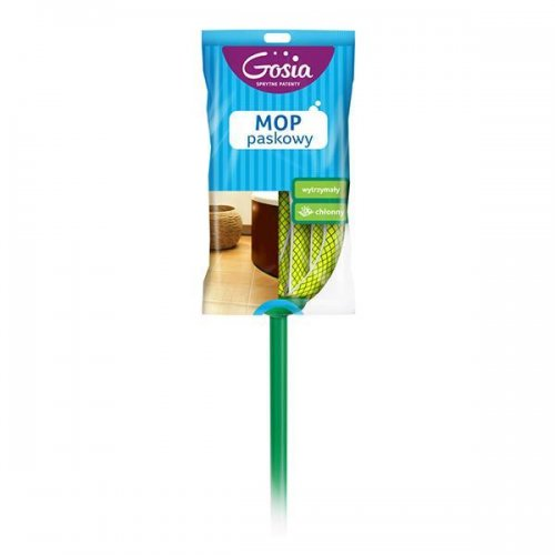 Gosia Mop Z Drążkiem Paskowy Zielony 4960