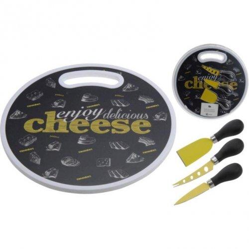 Zestaw Cheese Deska Do Krojenia Z Nożami