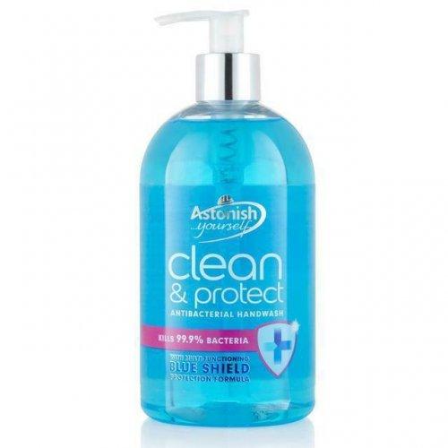 Astonish Antybakteryjne Mydło W Płynie Clean&Protect 500ml