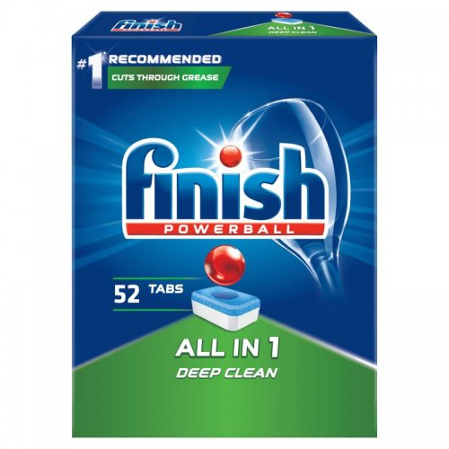 Finish Powerball Tabletki Do Zmywarek 52szt Regular
