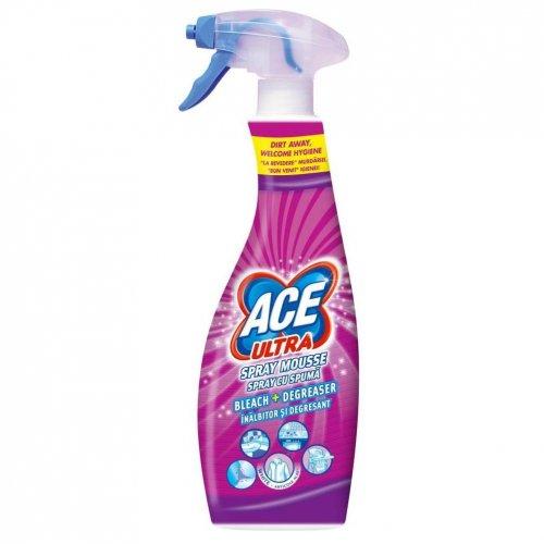 Ace Ultra Pianka Odplamiacz Spray 700ml Fresh Różowa Procter Gamble