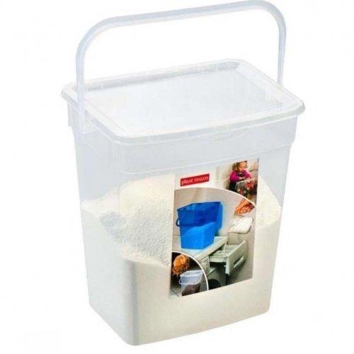 Plast Team Pojemnik Uniwersalny 6l Transparentny Naturalny 5058