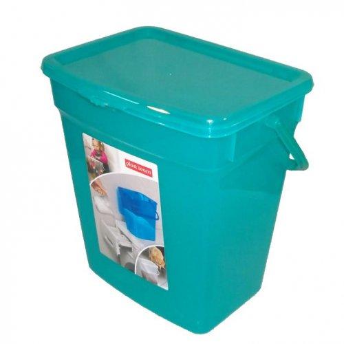 Plast Team Pojemnik Uniwersalny 6l Transparentny Zielony 5058