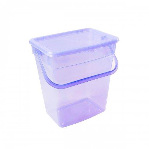 Plast Team Pojemnik Uniwersalny 6l Transparentny Fioletowy 5058