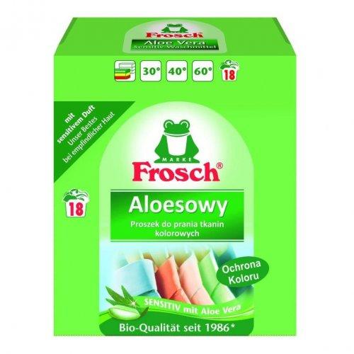 Frosch Proszek Do Prania Tkanin Kolorowy Aloesowy 1,35kg