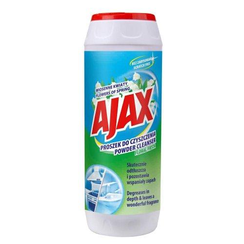 Ajax Proszek Do Szorowania Kwiatowy 450g